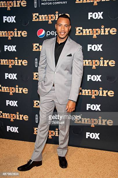 Trai Byers attends the Empire Series Season 2 New York Premiere at Carnegie Hall on September 12 2015 in New York City
