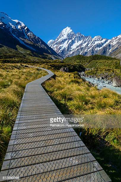 Trail of mt. Cook, Newzealand