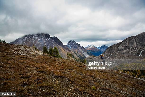 Trail Runner Mountain Girl