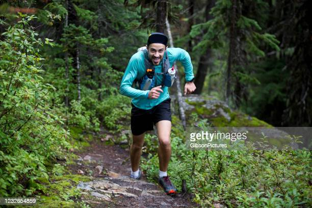 trail runner - pepper spray stock pictures, royalty-free photos & images