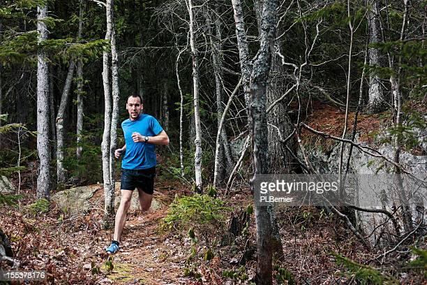 Trail-Läufer.