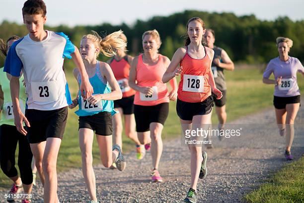 Trail Running a Long Distance Race
