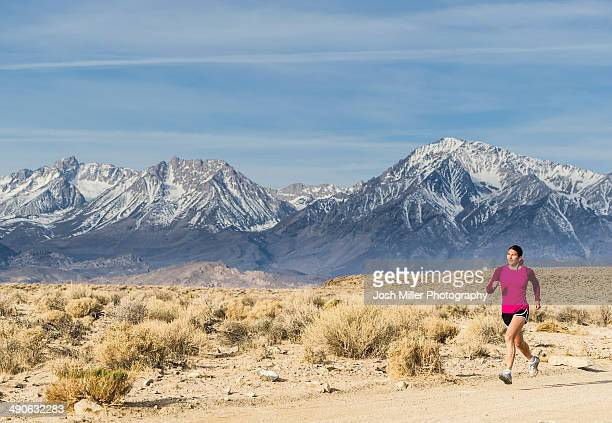 Trail Running in Eastern Sierra