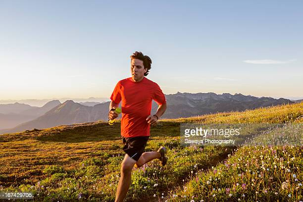 Trail running in the North Cascades