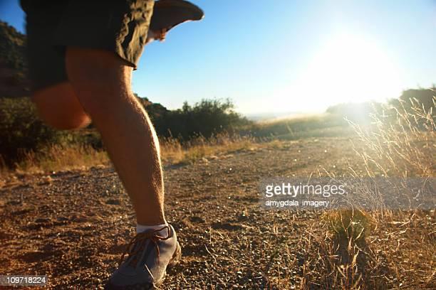 trail running!