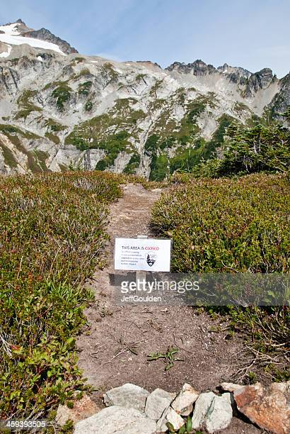 Sign to Advise of Trail Closure