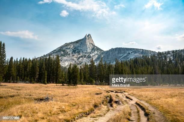 Trail to Cathedral Lake, Cathedral Peak, Sierra Nevada, Yosemite National Park, California, USA
