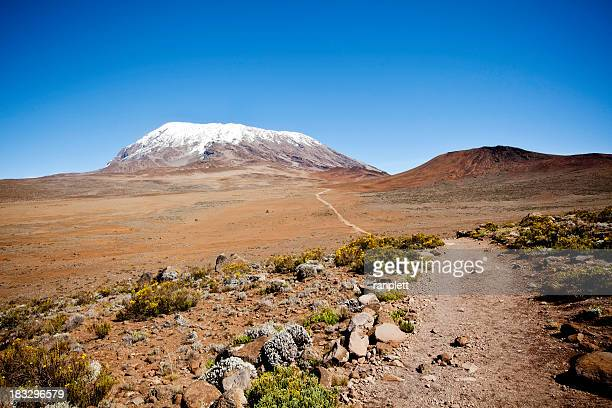 Trail to the Summit of Mount Kilimanjaro