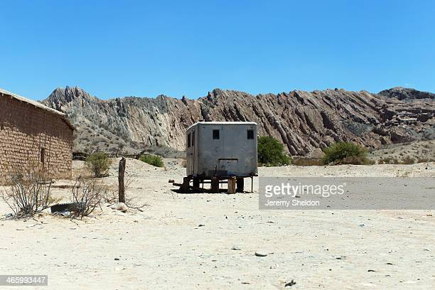 CONTENT] A trailer on the roadside in the desolate rural area of Salta Argentina