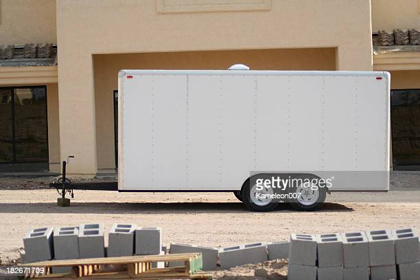 trailer sign - trailer stock pictures, royalty-free photos & images