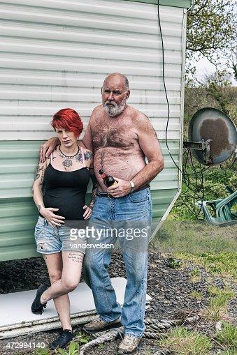 Pregnant white trailer trash gets huge black dick - 5 1