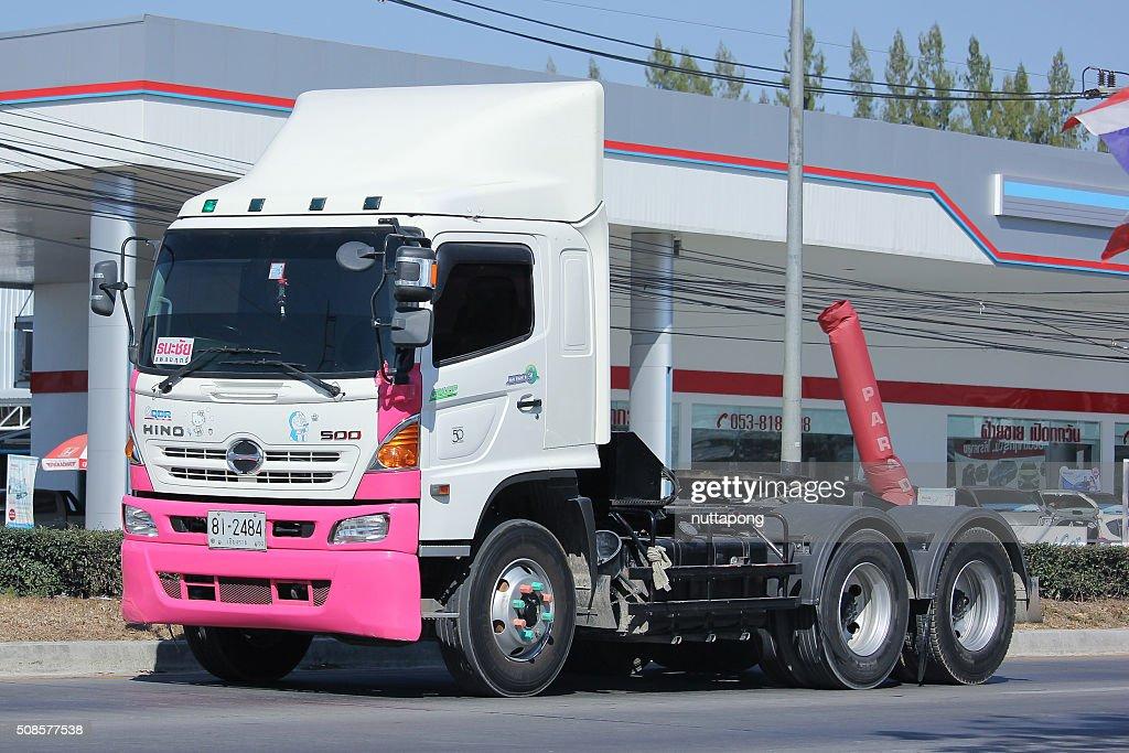 RIMORCHIO camion di Sandro società. : Foto stock