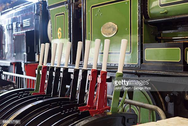 Train and levers