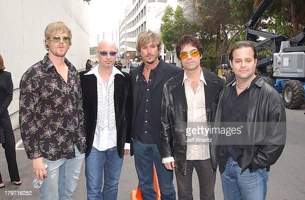 Train at the 2002 MTV Icon Aerosmith at Sony Studios in Los Angeles California
