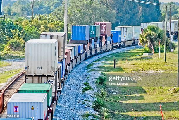 Train Carrying Cargo