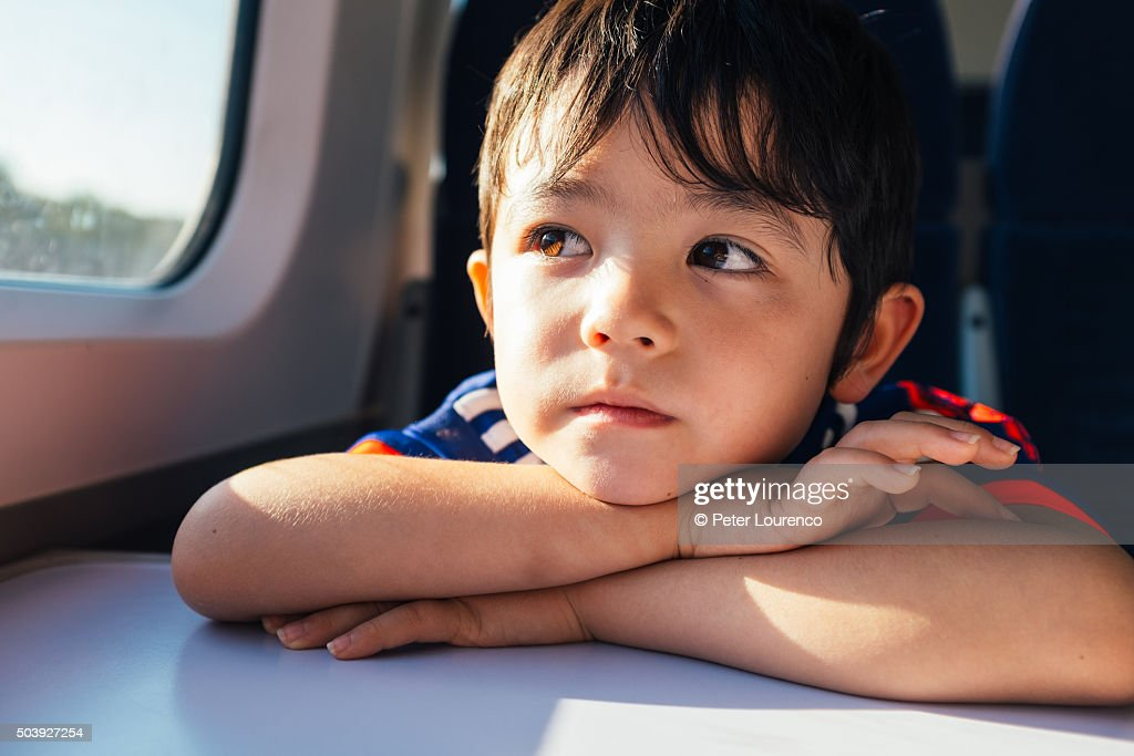 Train dreaming : Stock Photo