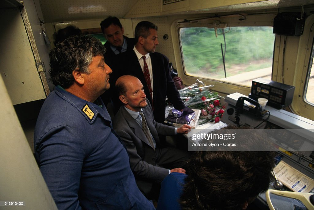 A train enthusiast, the King returns to Bulgaria, in part, by train.