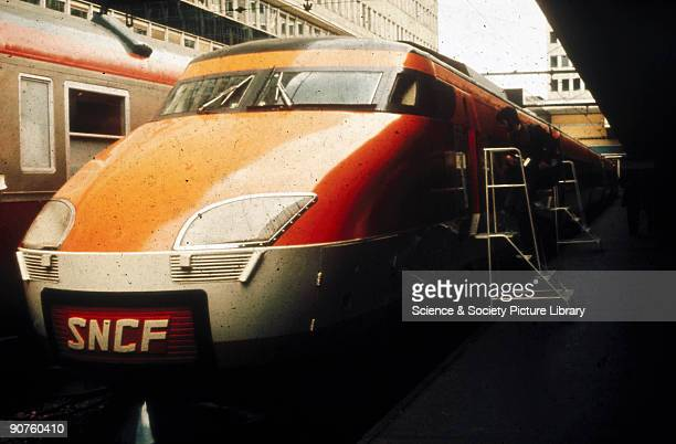 SNCF train France c 1980s
