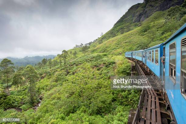 train from ella to kandy, sri lanka - sri lanka stock pictures, royalty-free photos & images