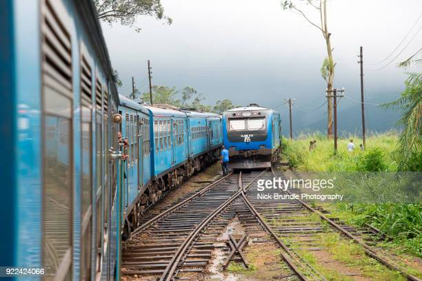 Train from Ella to Kandy, Sri Lanka