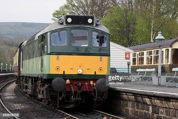 Train, Grosmont, North Yorkshire, England