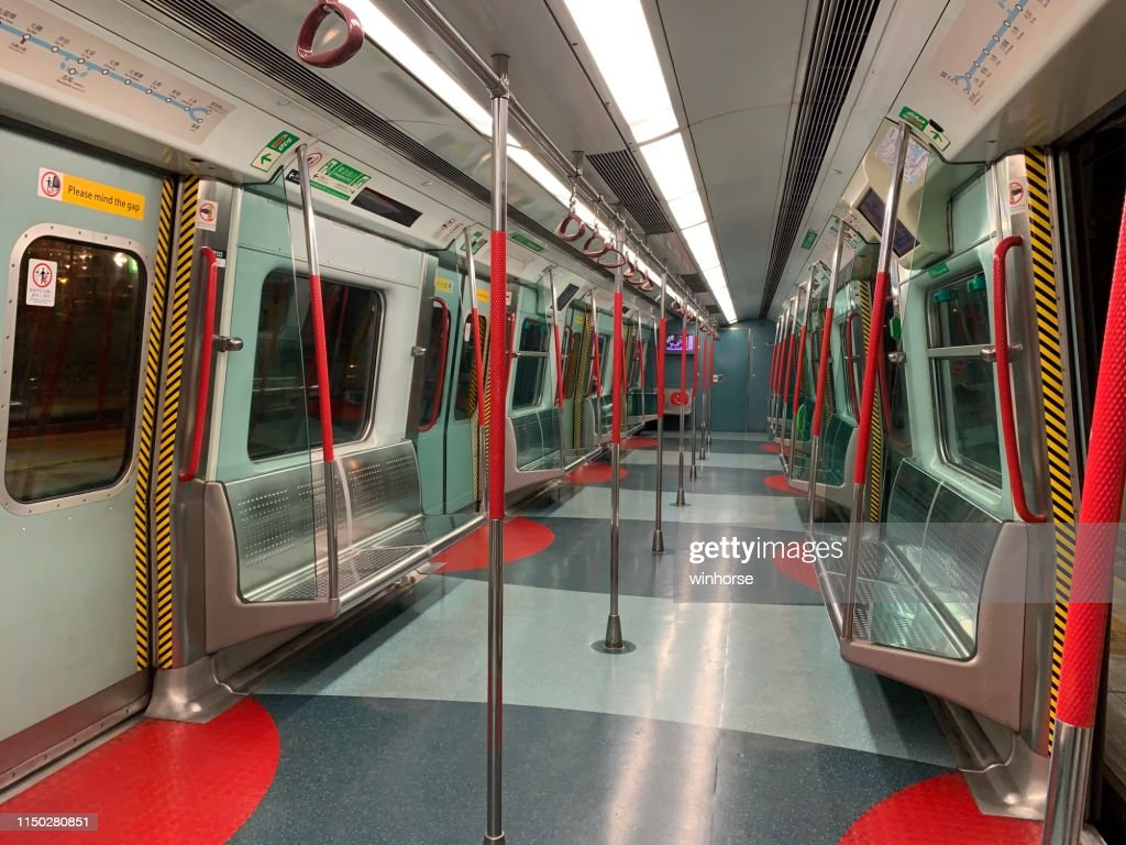 Mtr Train In Hong Kong Stock Photo - Getty Images