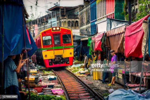 Train In Market