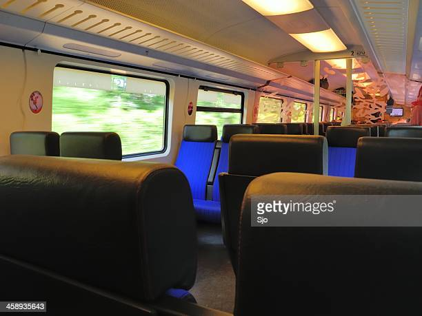 "train interior - ""sjoerd van der wal"" or ""sjo"" stock pictures, royalty-free photos & images"