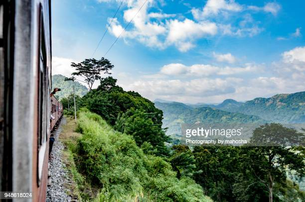 train journey - kandy kandy district sri lanka stock pictures, royalty-free photos & images