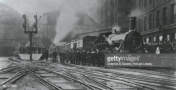 A train leaving Paddington Station in London The broad gauge used on the Great Western Railway designed by Isambard Kingdom Brunel in the 1830s...