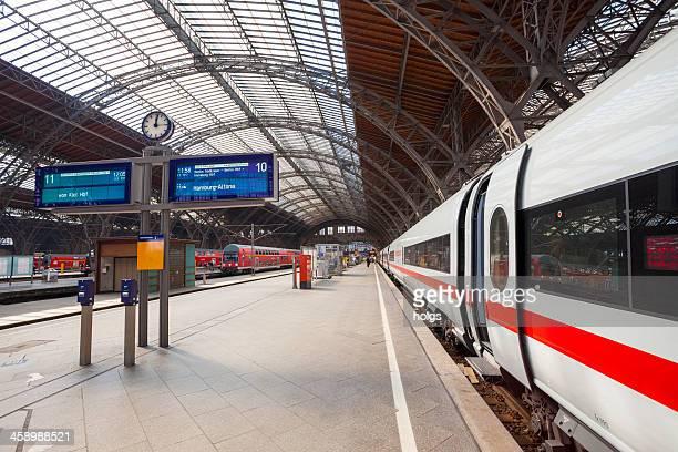 ICE-Zug, Leipzig, Deutschland