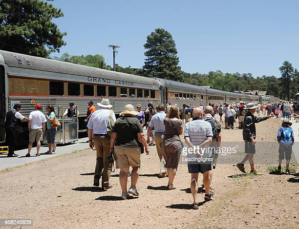 Train on the Grand Canyon Railway