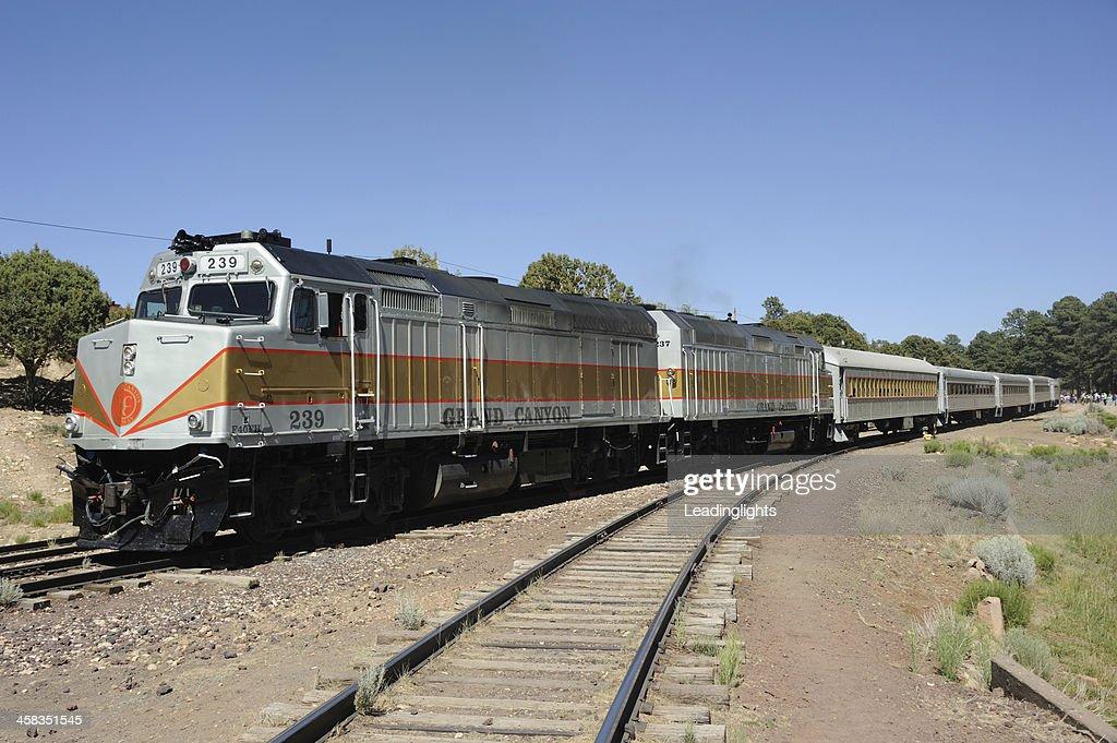 Train on the Grand Canyon Railway : Stock Photo