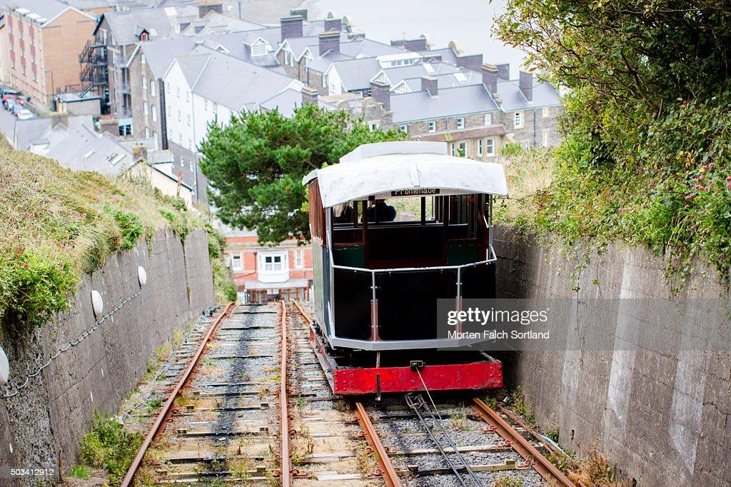 Train on the railway : Stock Photo