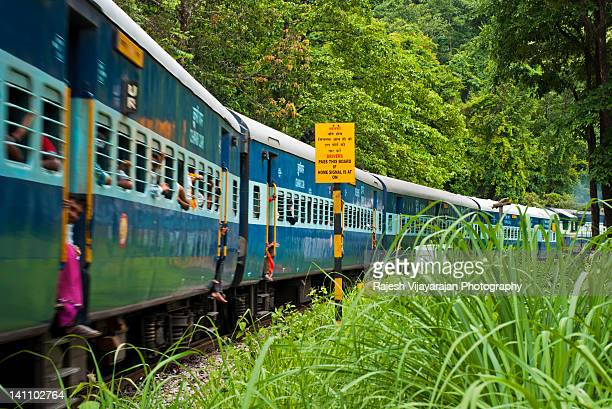 train on track - karnataka stock pictures, royalty-free photos & images
