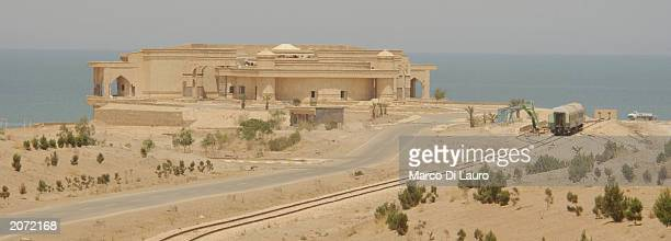 A train once used to bring Saddam Hussein's loyalists from Baghdad to Saddamiat al Tharthar resort city lies abandoned on June 11 2003 at Lake...