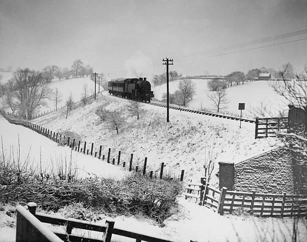 Derbyshire Winter Wall Art