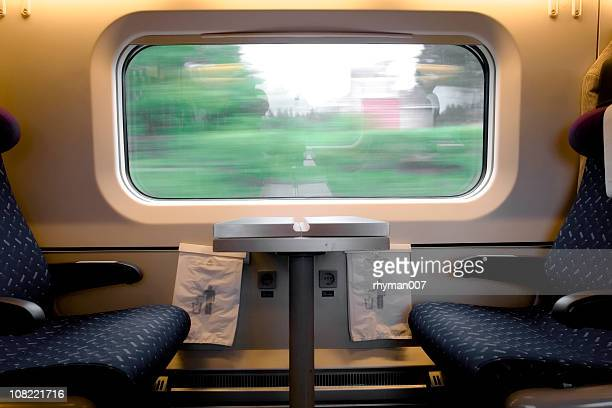 train seats - railroad car stock pictures, royalty-free photos & images
