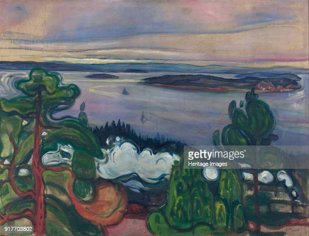 Train Smoke Found in the Collection of Munch Museum Oslo