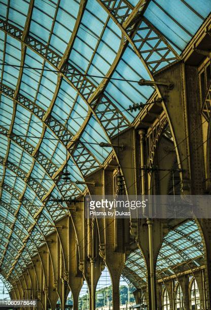 Train Station Gare De Nice Ville in Nice in Cote dÕAzur France