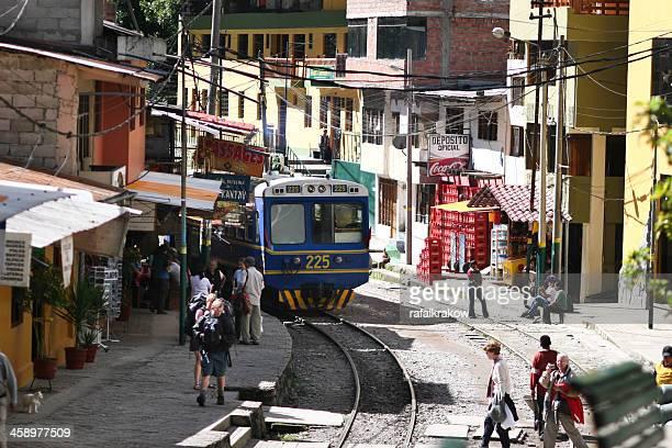 Estação ferroviária de Aguas Calientes, Peru