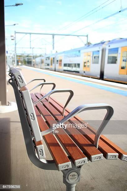 Train station in Sydney; Australia.