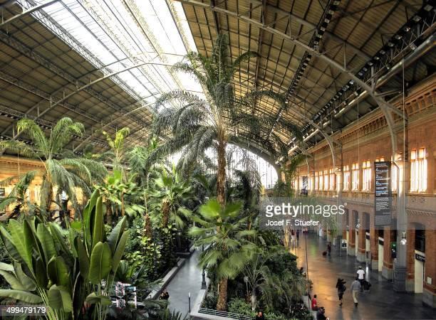 Train station Madrid Atocha