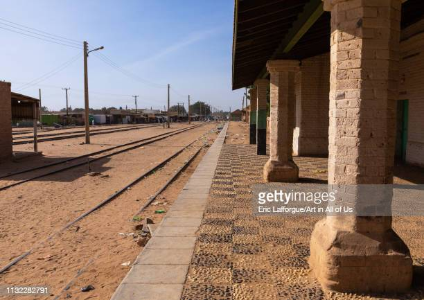 Train station Northern State Karima Sudan on December 27 2018 in Karima Sudan
