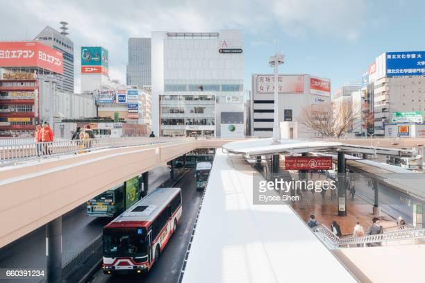 Train station of Sendai