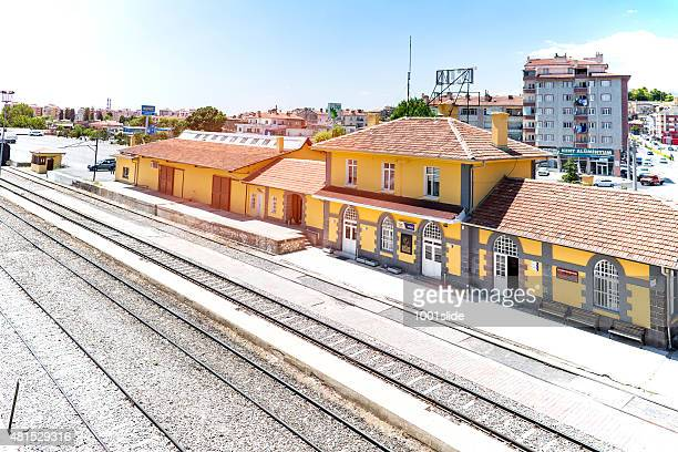 train station - camera point of view stock photos and pictures
