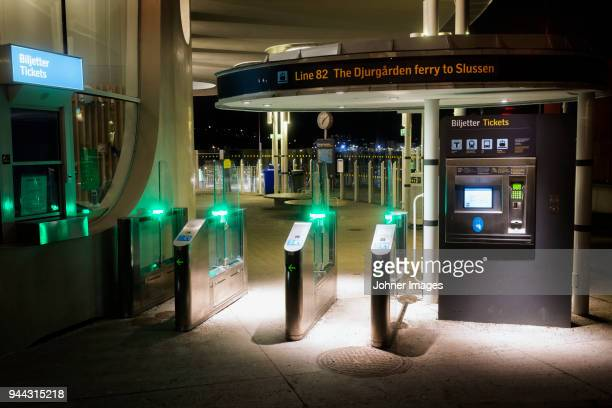 train station - djurgarden stock pictures, royalty-free photos & images