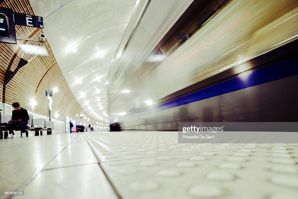 Train Station Platform, Monaco Montecarlo