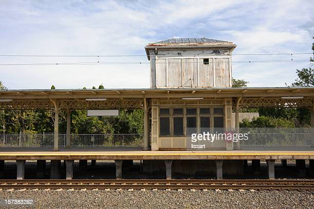 train station platform - lancaster county pennsylvania stock pictures, royalty-free photos & images