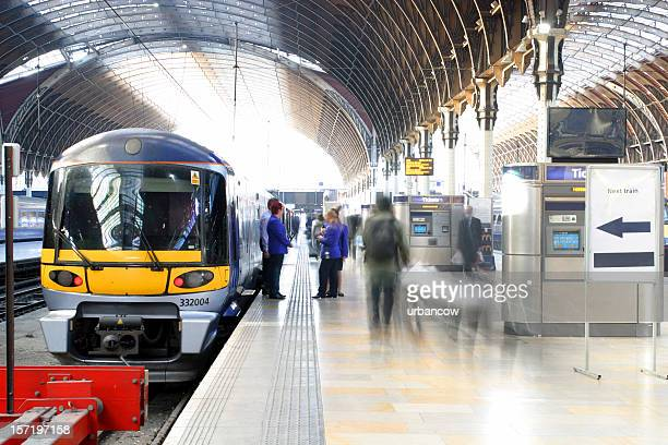 train station tunnel - uk stock pictures, royalty-free photos & images